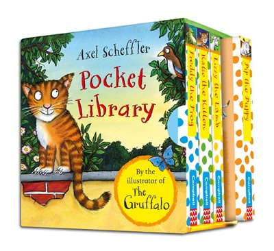 Book cover for Axel Scheffler Pocket Library